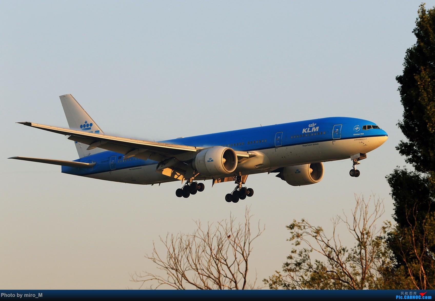 Re:[原创]欧洲小众机型体验之旅,附所到的机场拍机图片(中) BOEING 777-200  AMS