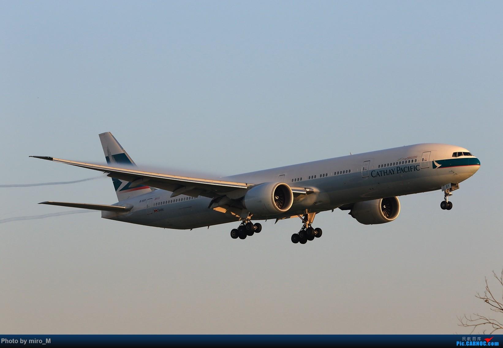 Re:[原创]欧洲小众机型体验之旅,附所到的机场拍机图片(中) BOEING 777-300ER B-KQT 荷兰阿姆斯特丹史基浦机场