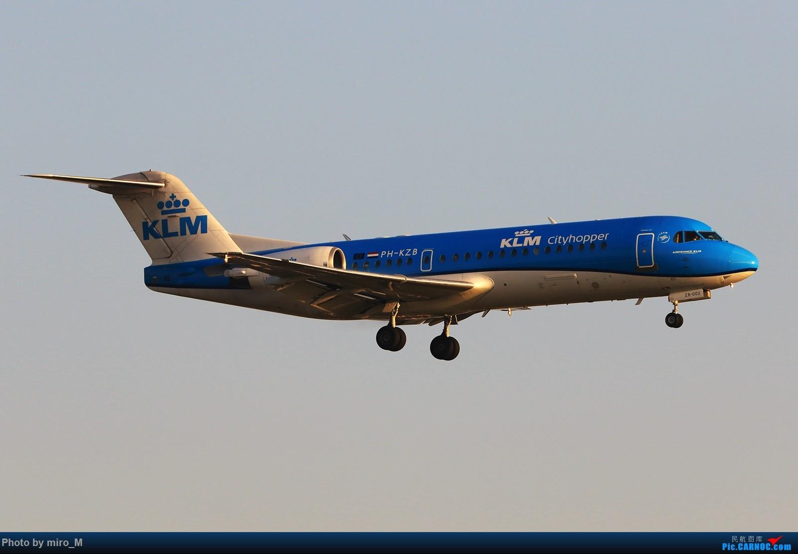 Re:[原创]欧洲小众机型体验之旅,附所到的机场拍机图片(中) FOKKER-70 PH-KZB AMS