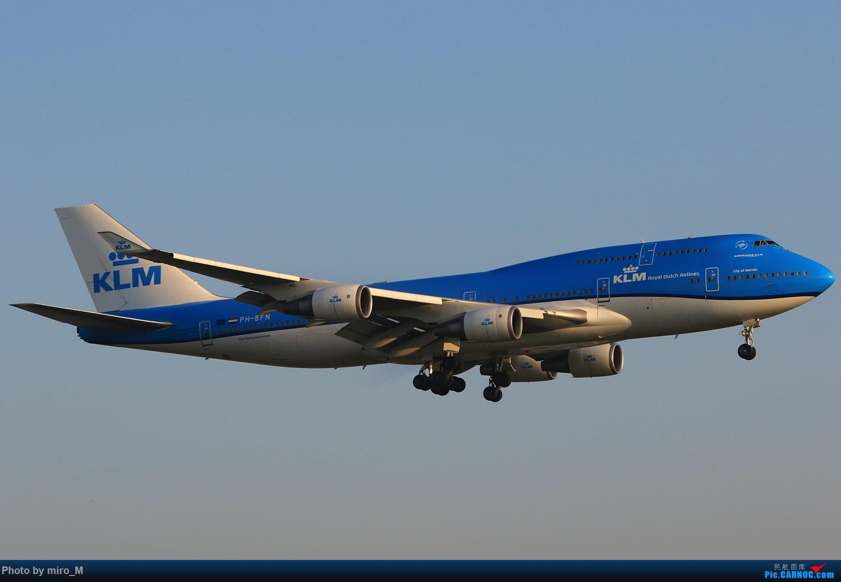 Re:[原创]欧洲小众机型体验之旅,附所到的机场拍机图片(中) BOEING 747-400 PH-BFN AMS