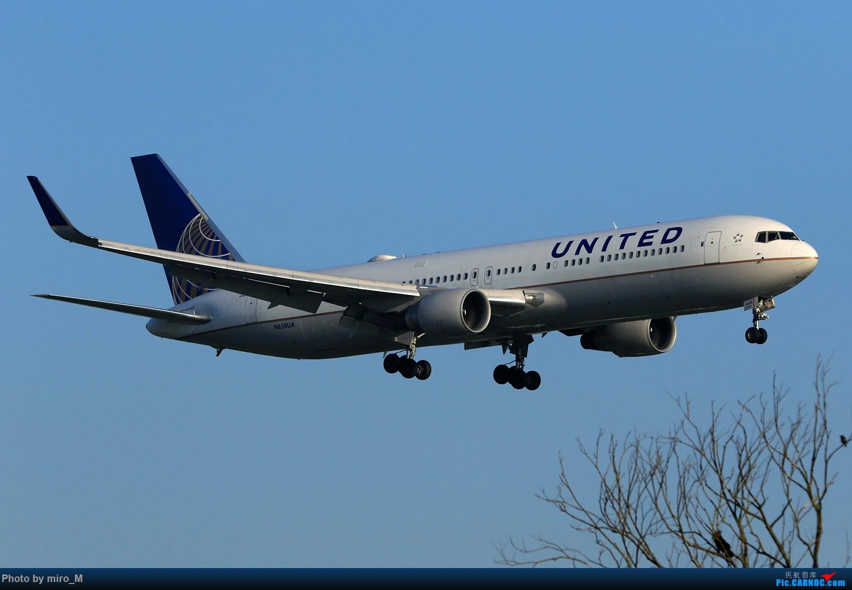 Re:[原创]欧洲小众机型体验之旅,附所到的机场拍机图片(中) BOEING 767-300 N658UA AMS