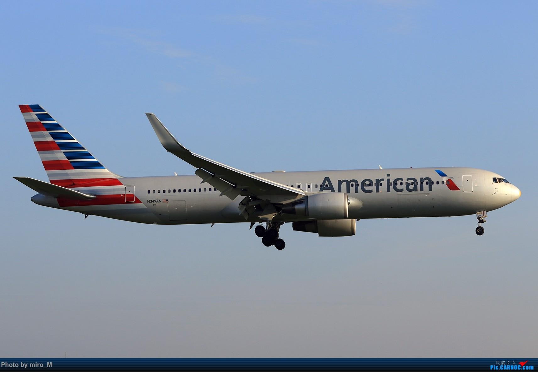 Re:[原创]欧洲小众机型体验之旅,附所到的机场拍机图片(中) BOEING 767-300 N349AN AMS