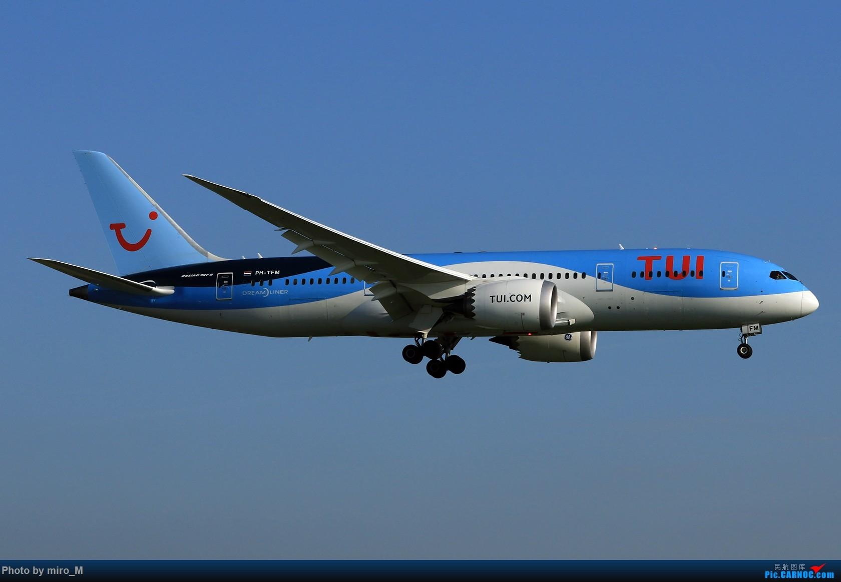 Re:[原创]欧洲小众机型体验之旅,附所到的机场拍机图片(中) BOEING 787-8 PH-TFM AMS