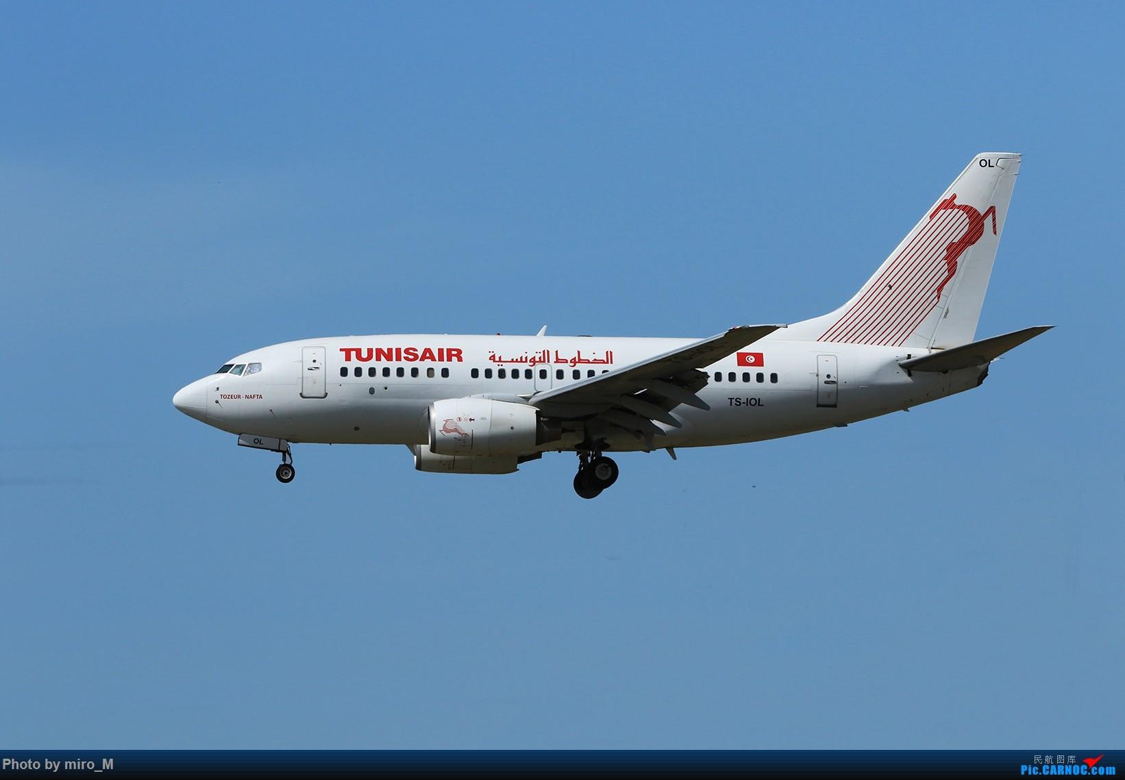Re:[原创]欧洲小众机型体验之旅,附所到的机场拍机图片(中) BOEING 737-600 TS-IOL TLS
