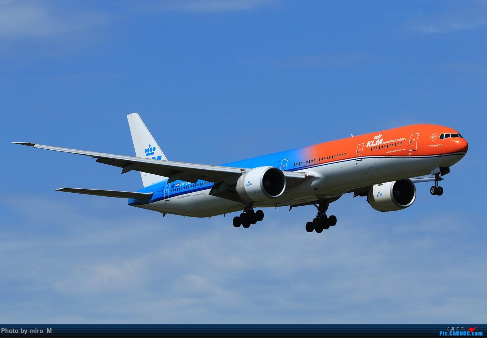 一图:KLM 77W BOEING 777-300ER PH-BVA AMS