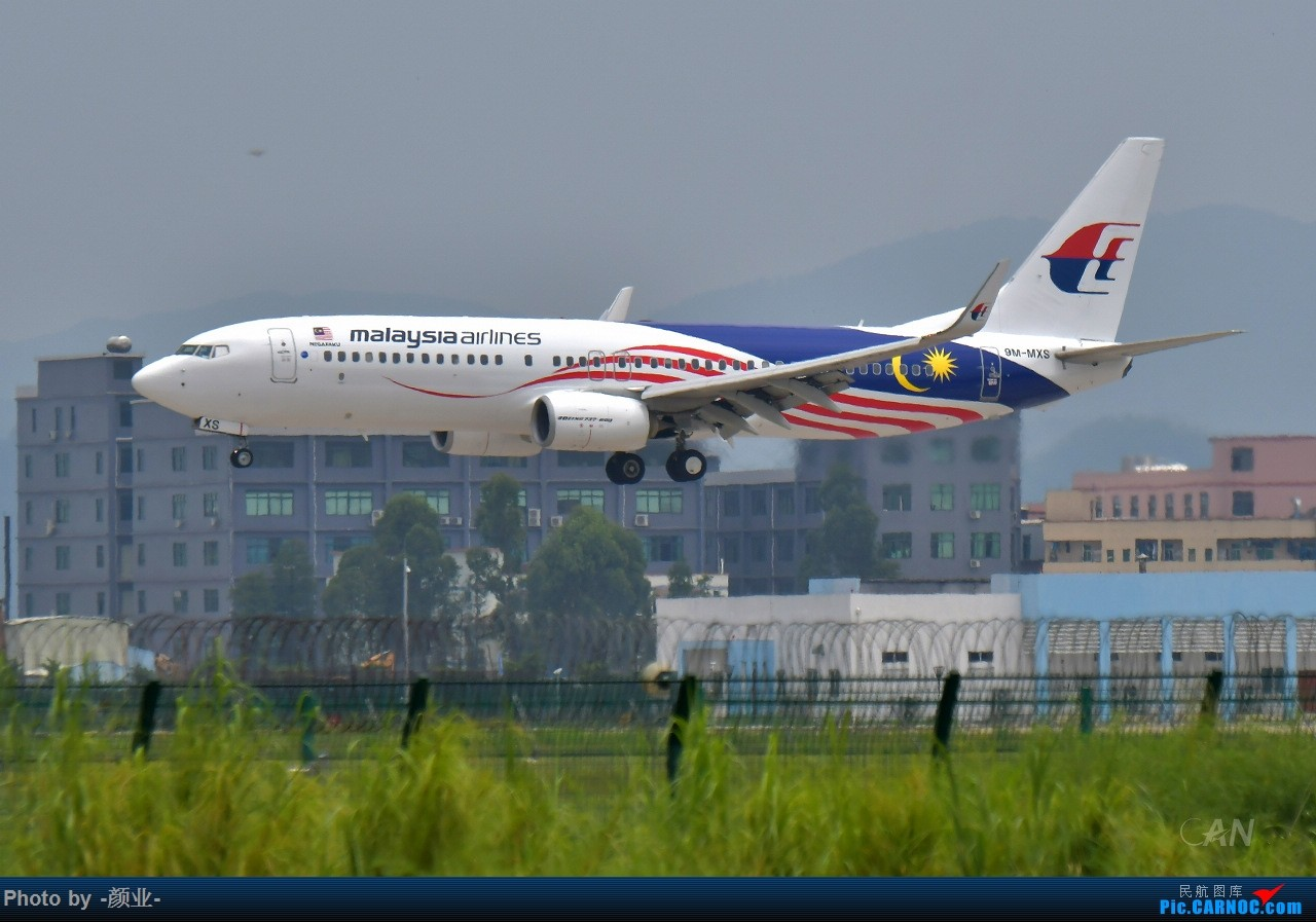 Re:2011-2017我的打灰机心情[广州] BOEING 737-800 9M-MXS 中国广州白云国际机场