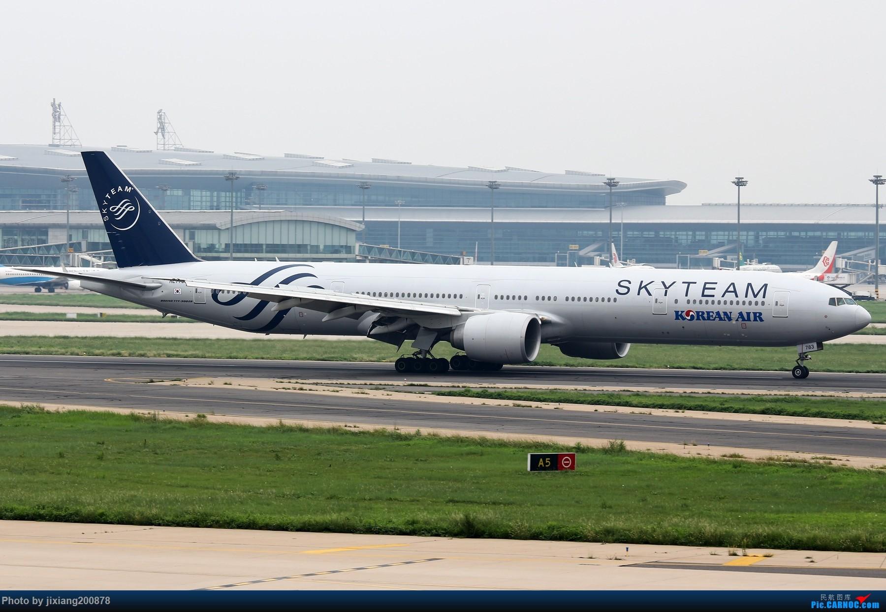 Re:[原创]天津飞友会  大韩航空天合联盟HL7783 BOEING 777-300ER HL7783 中国天津滨海国际机场