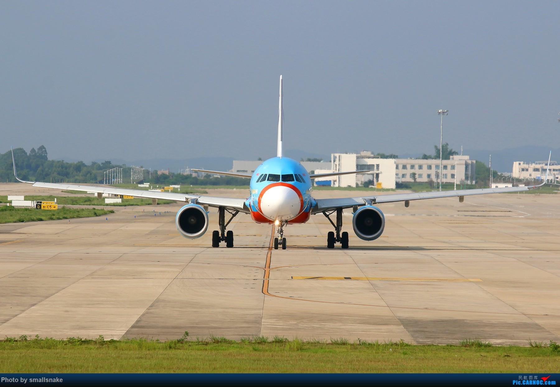 [原创]西部航空欢乐谷彩绘光临NNG... AIRBUS A320-200 B-9982