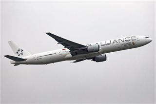[PEK]新加坡航空公司波音777-300星空联盟涂装(一直水泥天,先解决有无)