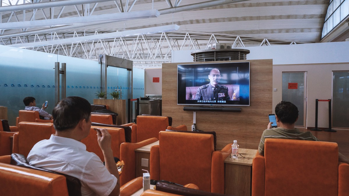 Re: [原创]【 回国八万里 | 兑现一个三年的承诺 | 金色海峡 | 下集 】    中国青岛流亭国际机场