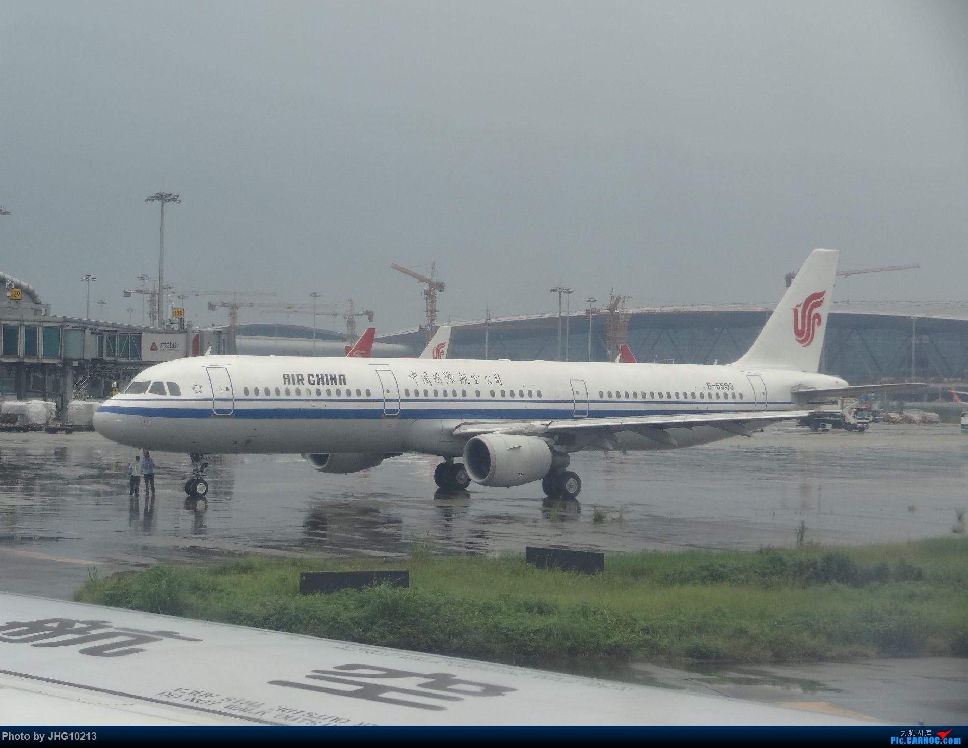 Re:6.21 CAN->HGH游记(其实更多的是拍飞机)【更新中】 AIRBUS A321-200 B-6599 中国广州白云国际机场