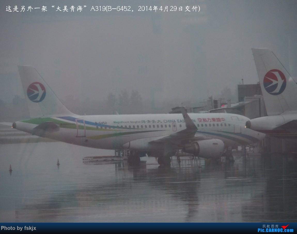 【fskjx的飞行游记☆52】地球上的一滴眼泪·大美青海 AIRBUS A319-100 B-6452 中国西安咸阳国际机场