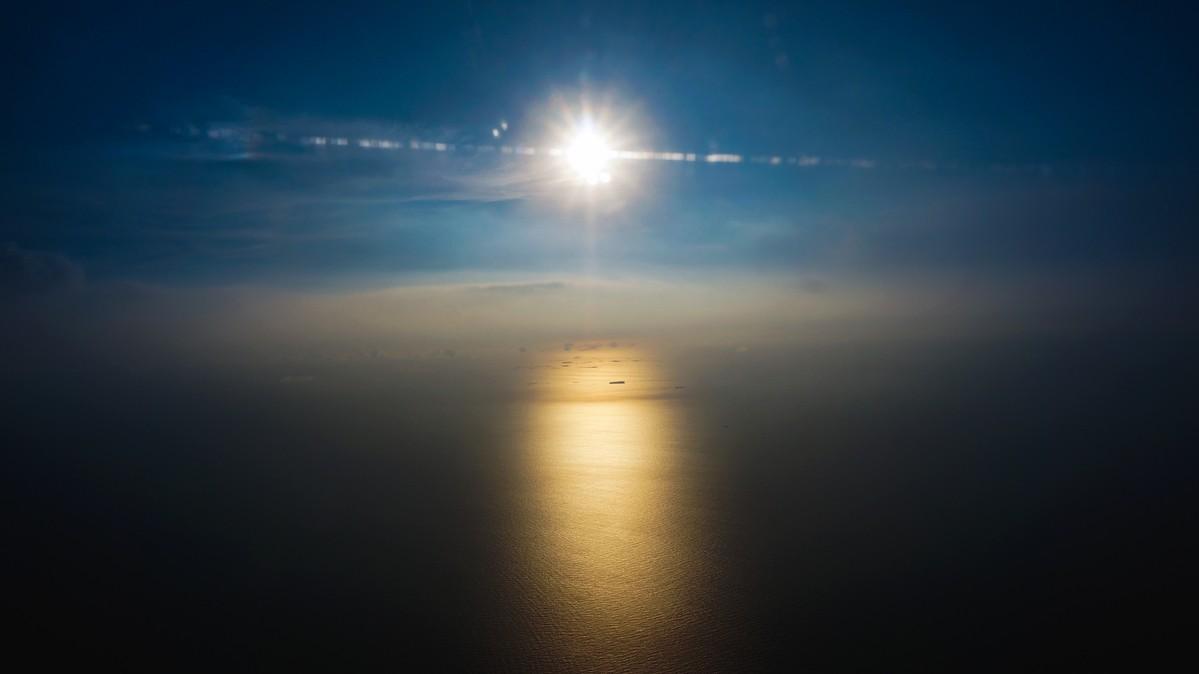 Re: [原创]【 回国八万里 | 兑现一个三年的承诺 | 金色海峡 | 下集 】 BOEING 777-300ER B-KQH 空中
