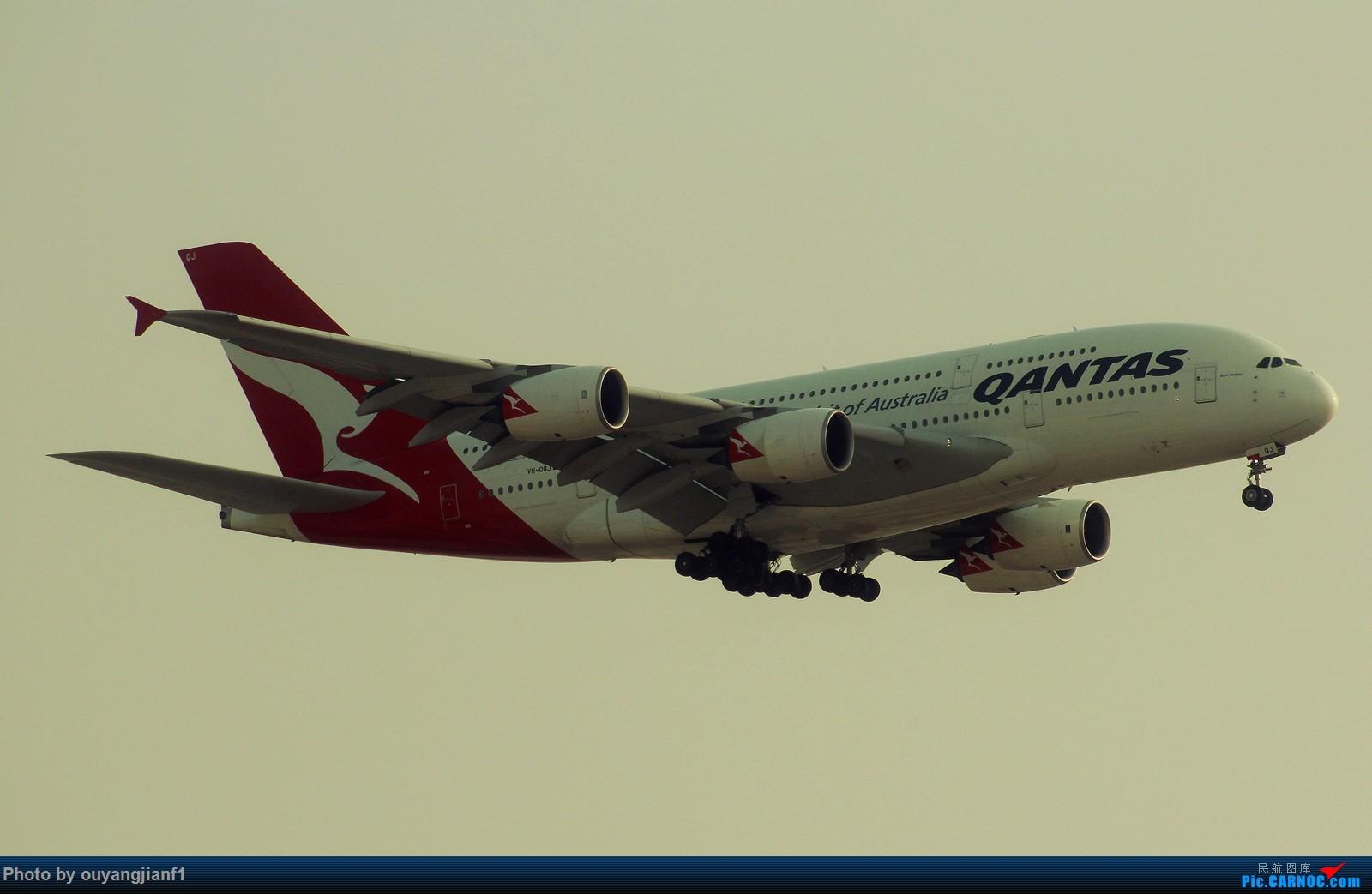 Re:[原创]很多年没有来贴图区了,记一次本不在计划中的迪拜拍机之行,在漫天黄沙中EK的380和777真的看到吐血.... AIRBUS A380-800 VH-OQJ 阿拉伯联合酋长国迪拜国际机场