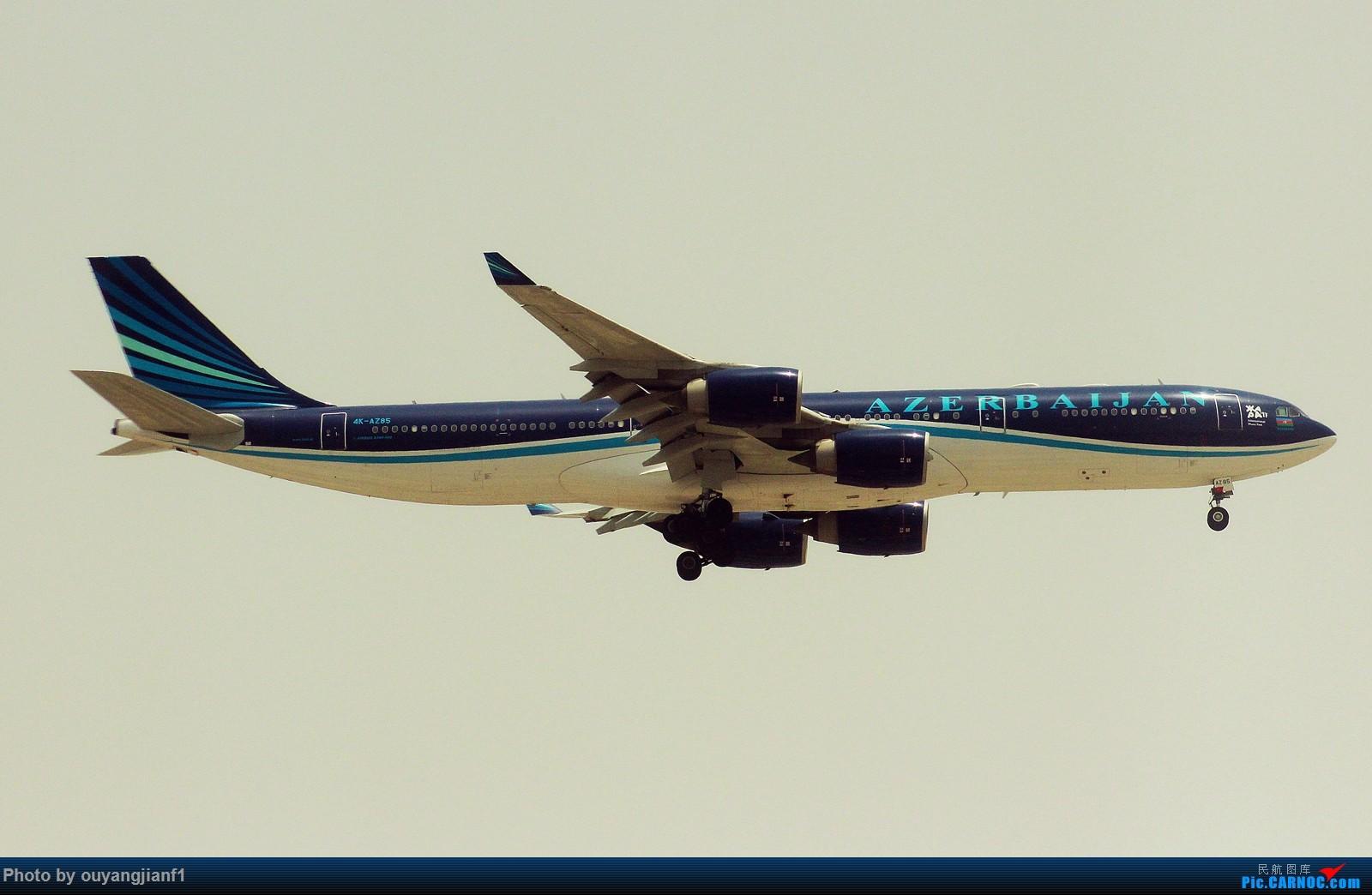 Re:很多年没有来贴图区了,记一次本不在计划中的迪拜拍机之行,在漫天黄沙中EK的380和777真的看到吐血.... AIRBUS A340-500 4K-AZ85 阿拉伯联合酋长国迪拜国际机场