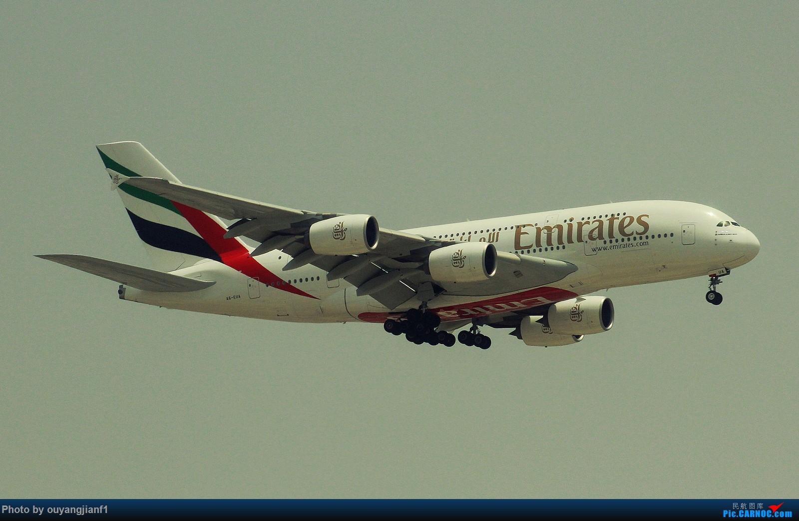 Re:[原创]很多年没有来贴图区了,记一次本不在计划中的迪拜拍机之行,在漫天黄沙中EK的380和777真的看到吐血.... AIRBUS A380-800 A6-EUA 阿拉伯联合酋长国迪拜国际机场