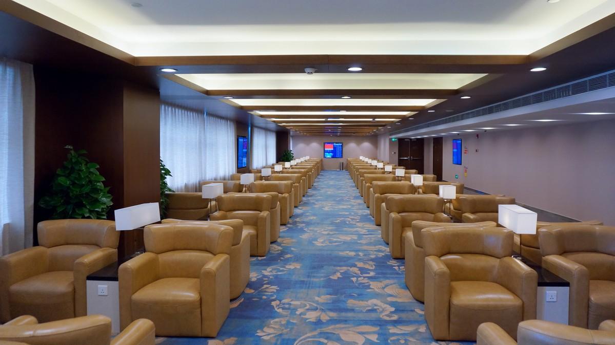 Re:【 回国八万里 | 兑现一个三年的承诺 | 金色海峡 | 下集 】    中国上海浦东国际机场