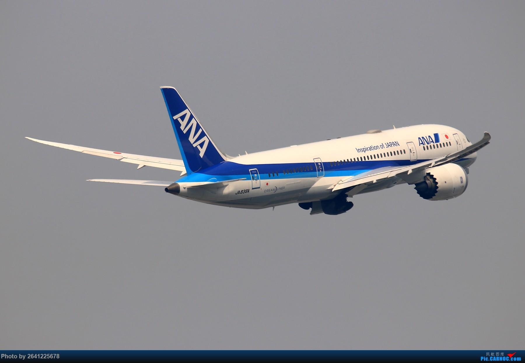 [原创]【ZBAA】轻霾去拍机 BOEING 787-8 JA838A 中国北京首都国际机场