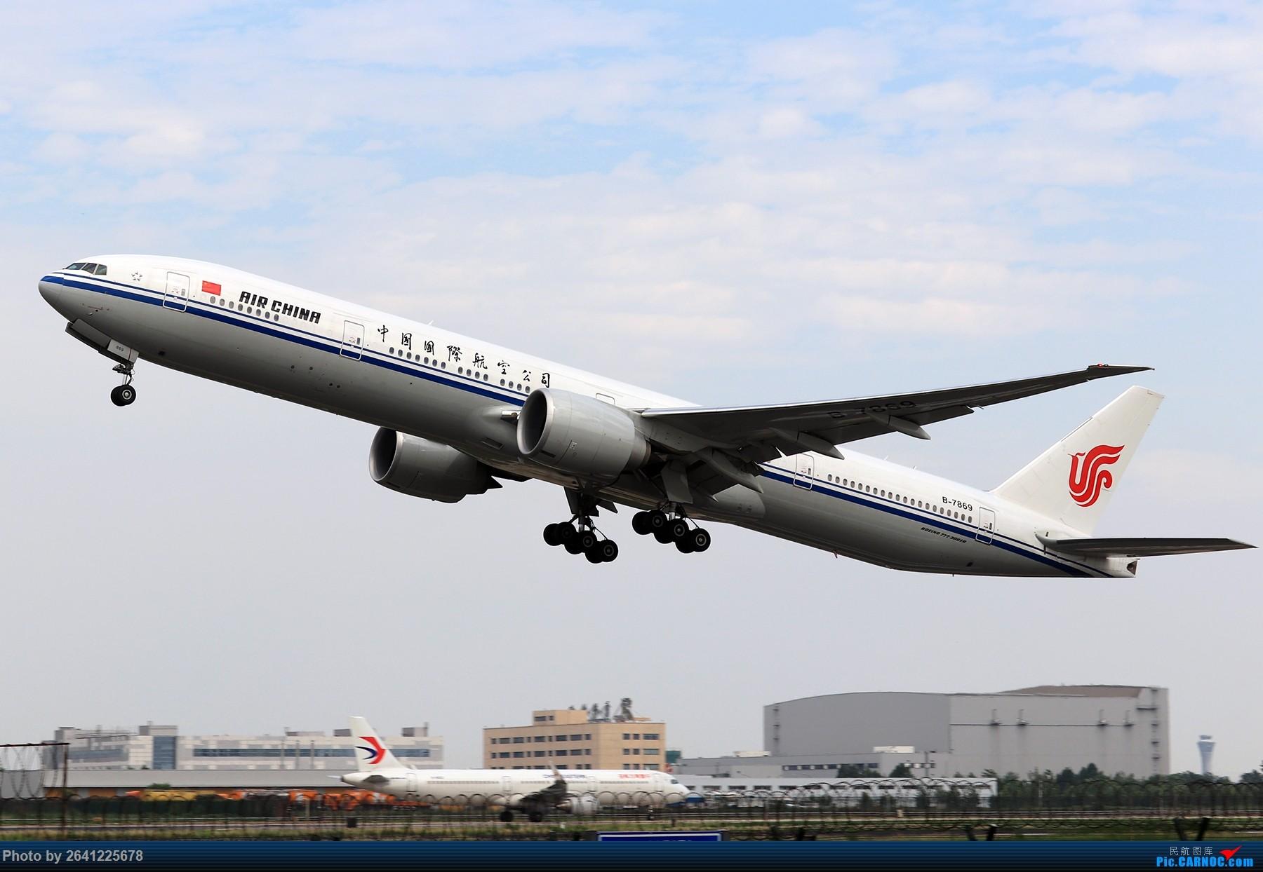 Re:[原创]【ZBAA】轻霾去拍机 BOEING 777-300ER B-7869 中国北京首都国际机场