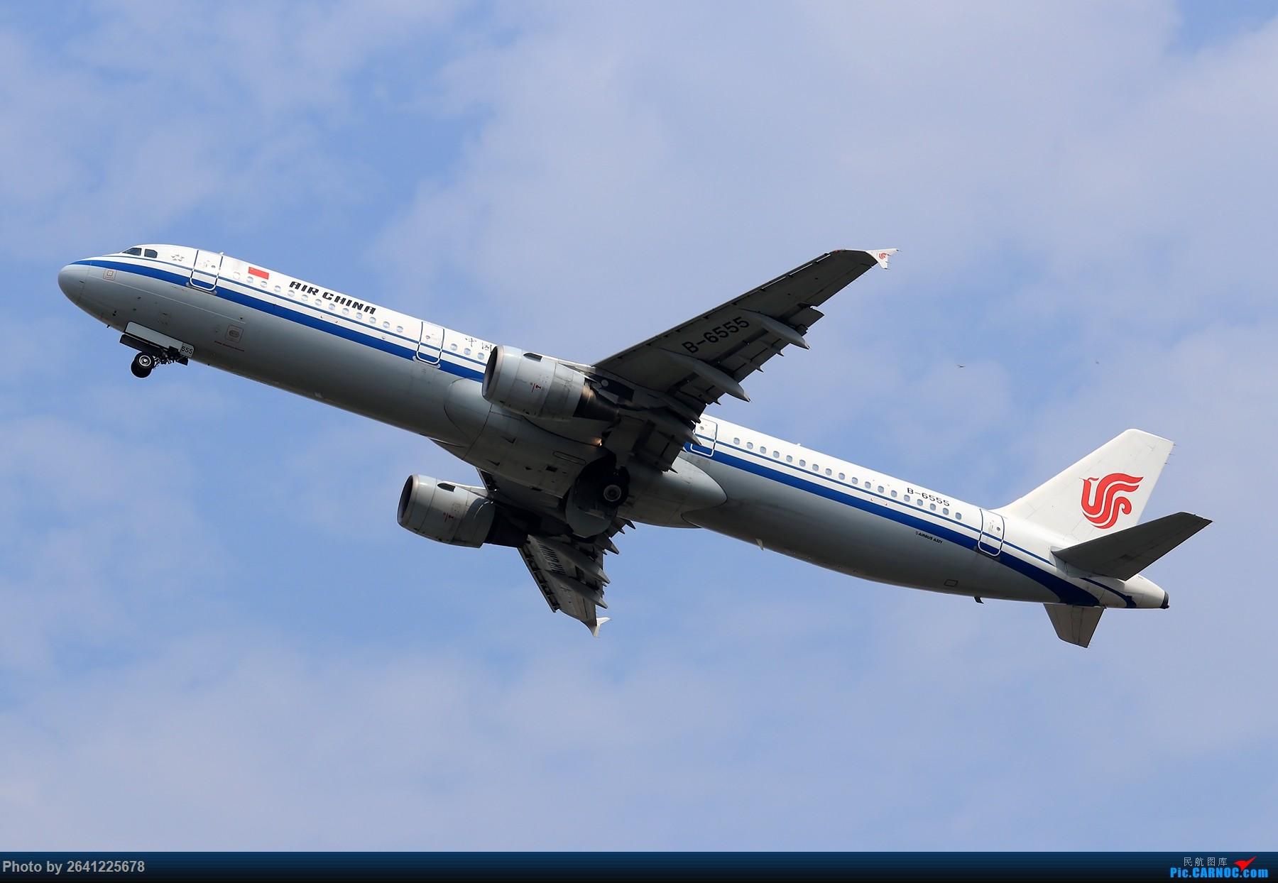 Re:[原创]【ZBAA】轻霾去拍机 AIRBUS A321-200 B-6555 中国北京首都国际机场