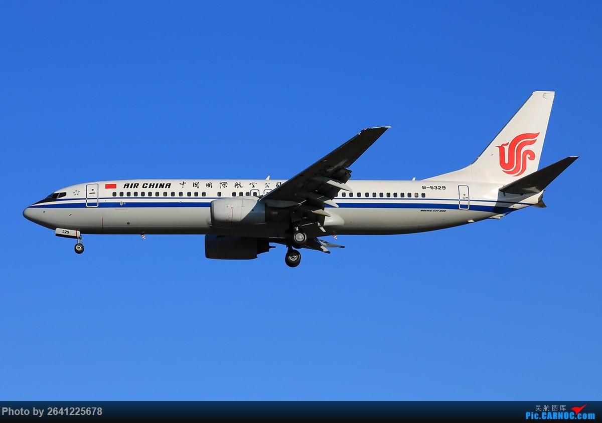 Re:[原创]【ZBAA】轻霾去拍机 BOEING 737-800 B-5329 中国北京首都国际机场