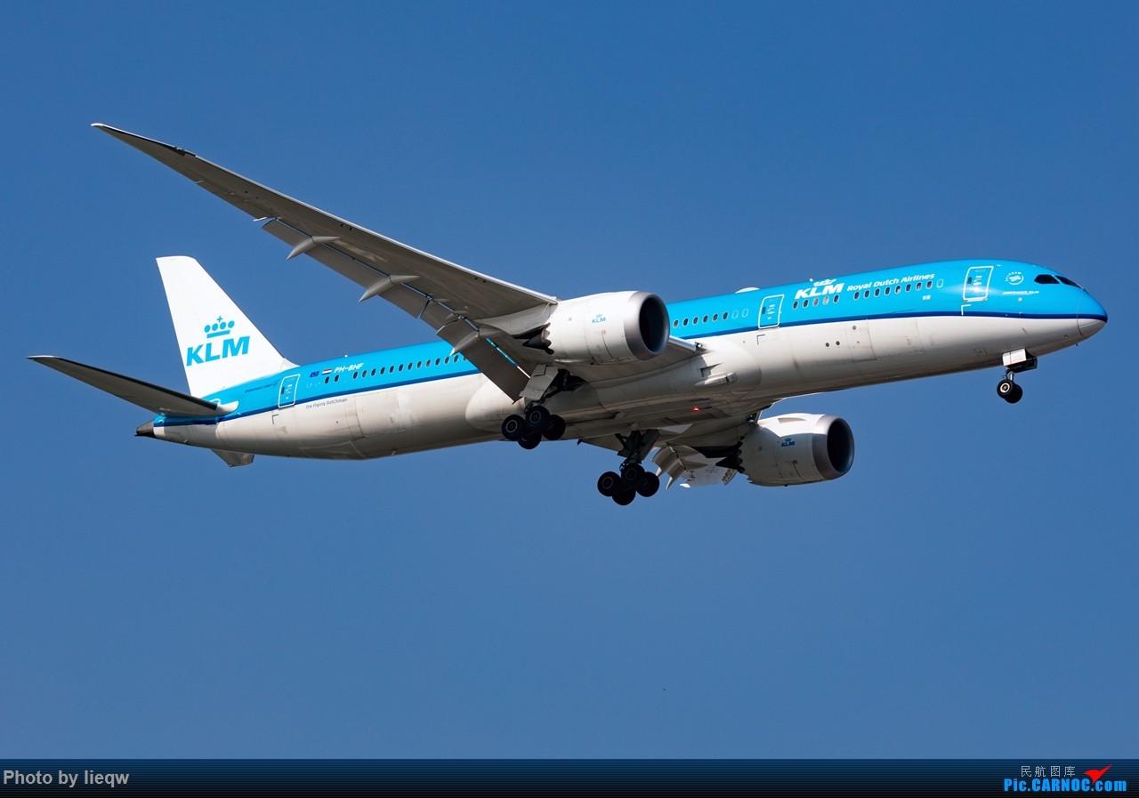 [原创][PEK]7月30日荷兰皇家航空公司KLM波音787-9梦想飞机首航北京 BOEING 787-9 PH-BHF 首都国际机场