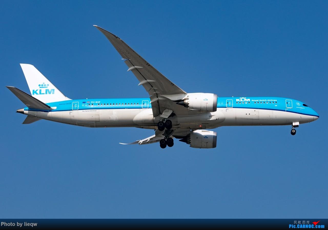 Re:[原创][PEK]7月30日起,荷兰皇家航空公司KLM波音787-9梦想飞机开始执飞北京至阿姆斯特丹往返航线 BOEING 787-9 PH-BHF 首都国际机场