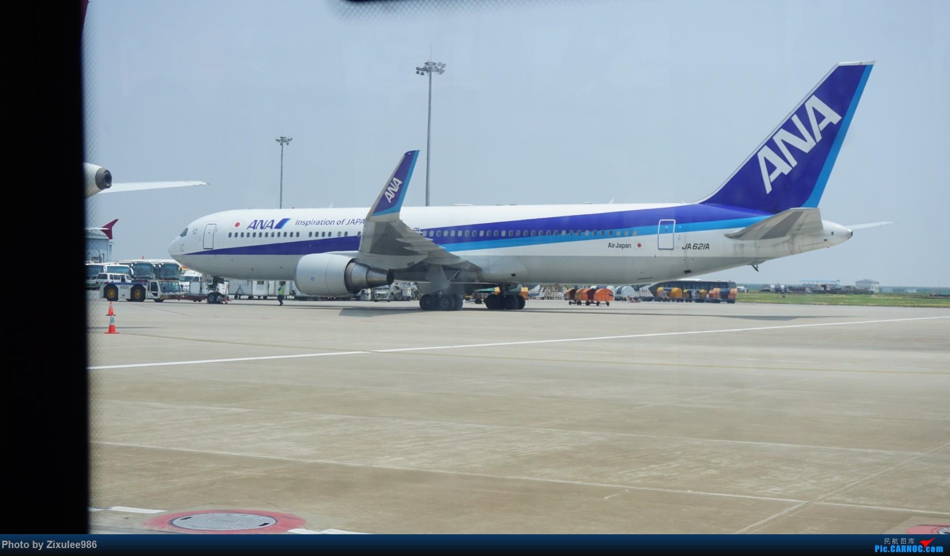 Re:[原创]日本关东关西游记之台风天坐飞机的感受:猛颠、复飞、盘旋、备降、延误... ... BOEING 767-381(ER) JA621A 中国上海浦东国际机场