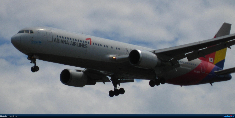佳能2000年的一台渣机 BOEING 767-300 HL7528 中国大连国际机场