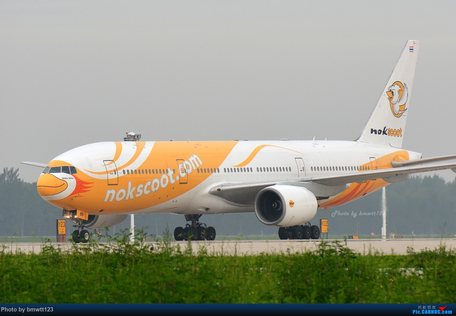 Re:[原创]【SHE沈阳】桃仙地面一组(45图)自带地景! 777-200 HS-XBB 中国沈阳桃仙国际机场