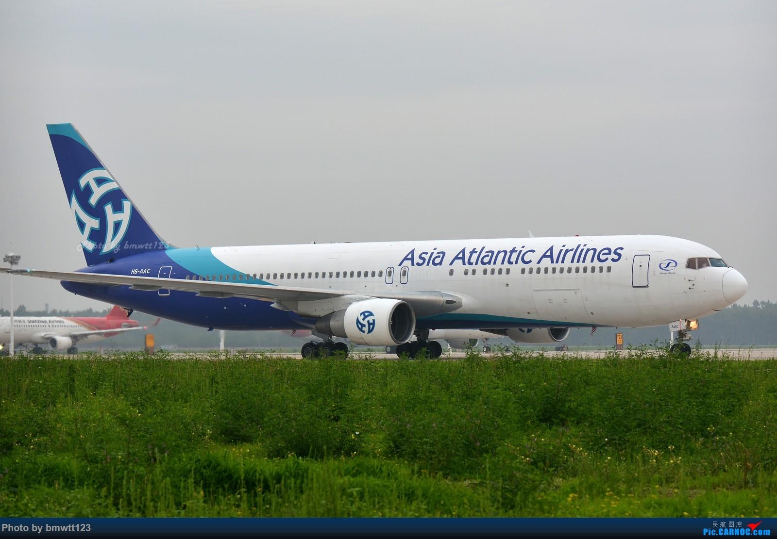 Re:[原创]【SHE沈阳】桃仙地面一组(45图)自带地景! 767-300 HS-AAC 中国沈阳桃仙国际机场