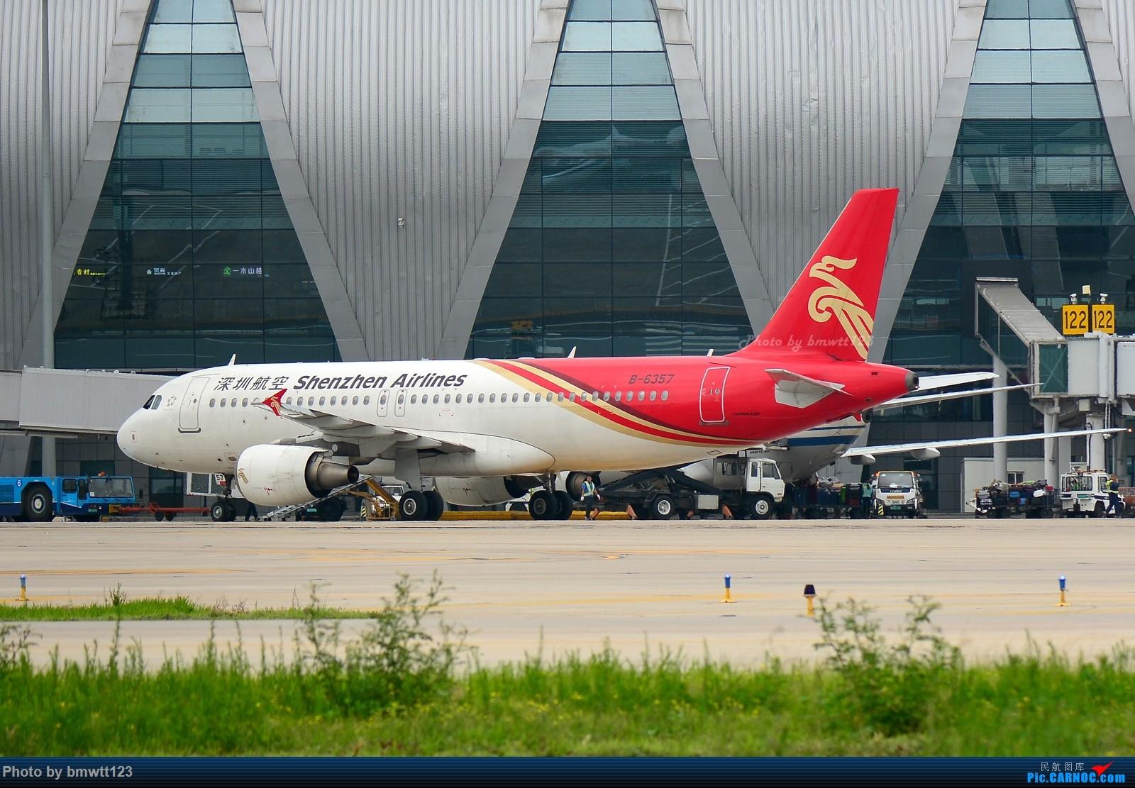 Re:[原创]【SHE沈阳】桃仙地面一组(45图)自带地景! AIRBUS A320-200 B-6357 中国沈阳桃仙国际机场
