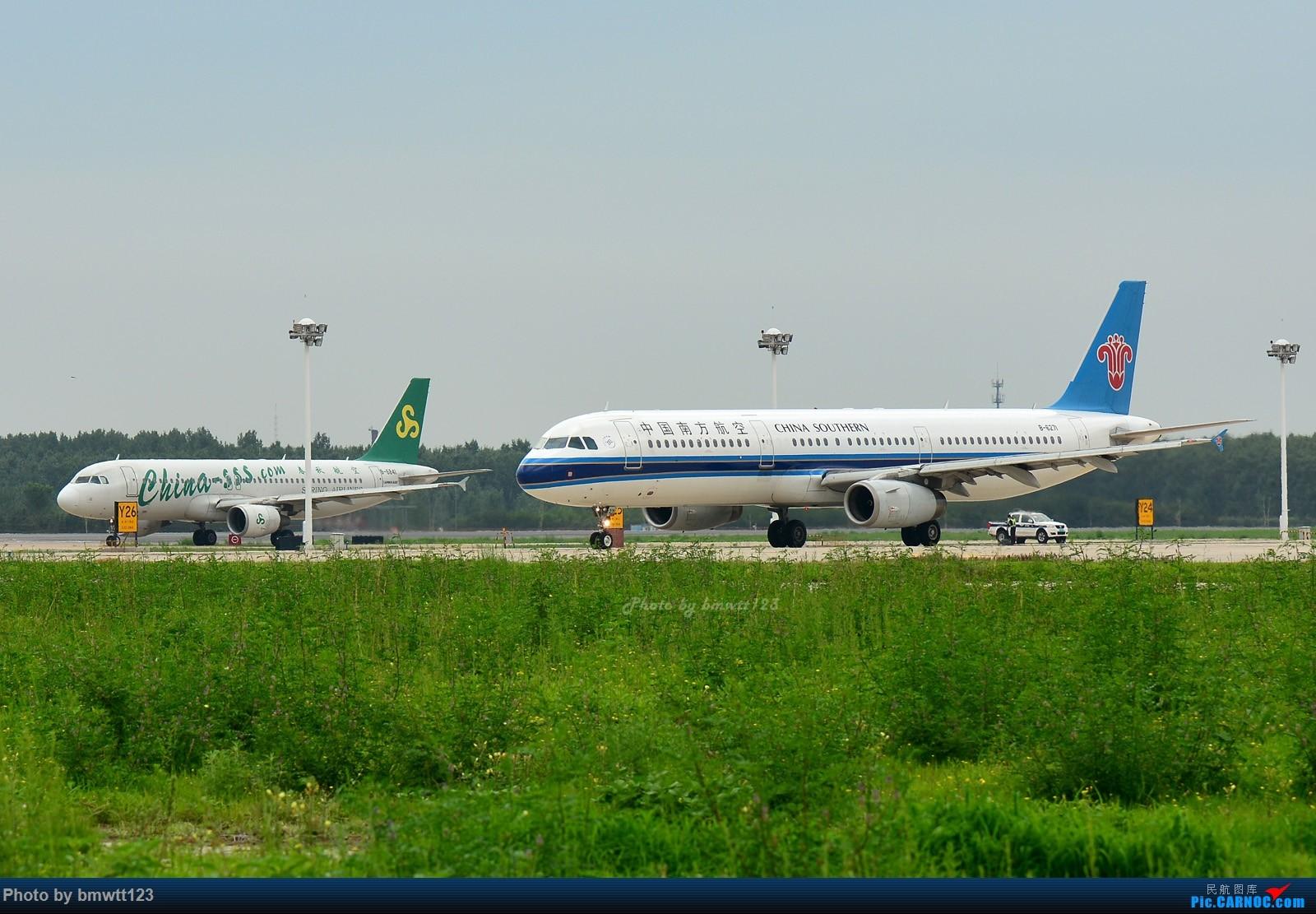 Re:[原创]【SHE沈阳】桃仙地面一组(45图)自带地景! AIRBUS A321-200 B-6271 中国沈阳桃仙国际机场