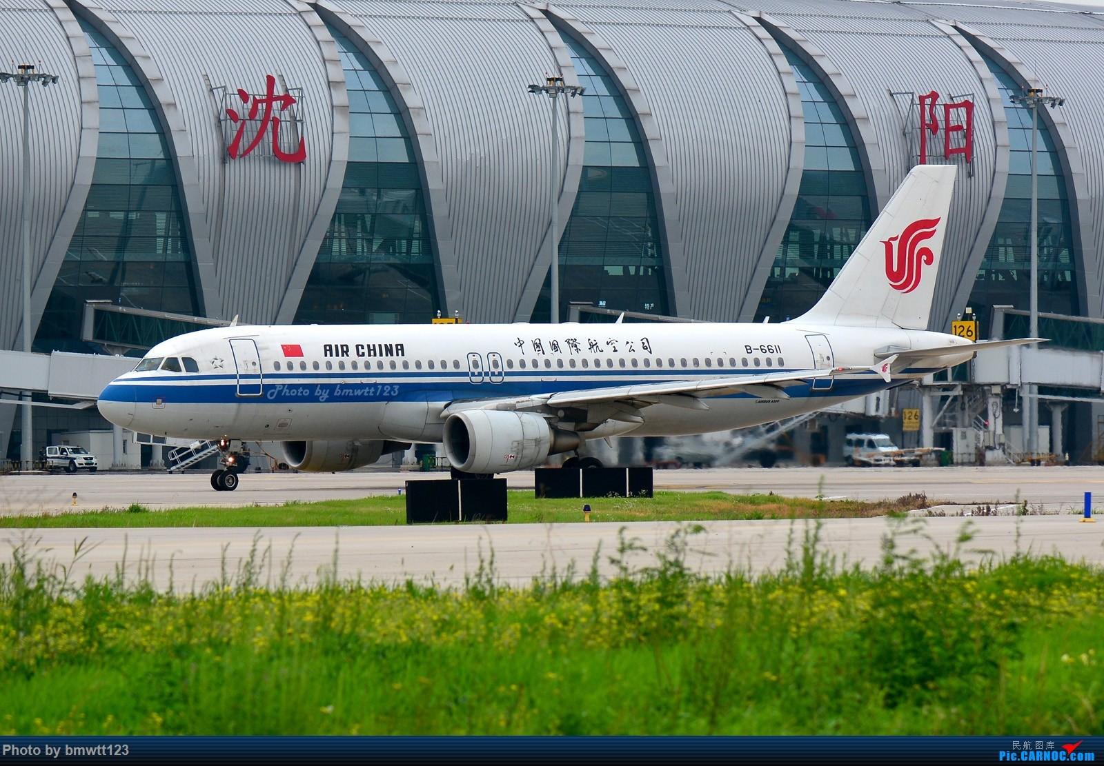 Re:[原创]【SHE沈阳】桃仙地面一组(45图)自带地景! AIRBUS A320-200 B-6611 中国沈阳桃仙国际机场