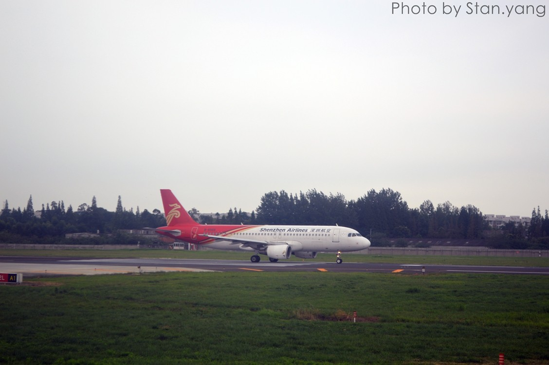 Re:[原创][Stan游记]南京、苏州、上海三地联游,空铁联程 附flight log AIRBUS A320-200 B-6568 中国成都双流国际机场