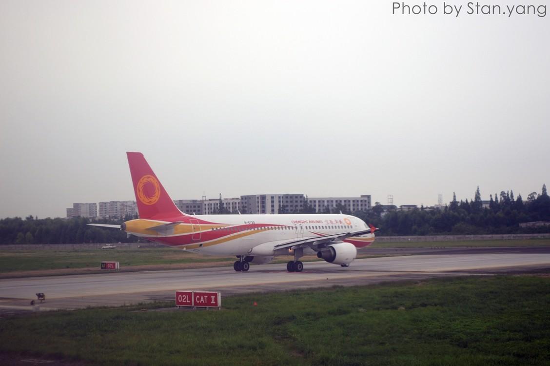 Re:[原创][Stan游记]南京、苏州、上海三地联游,空铁联程 附flight log AIRBUS A320-200 B-6729 中国成都双流国际机场
