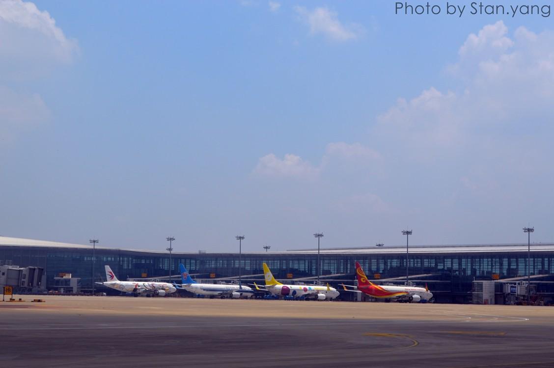 [原创][Stan游记]南京、苏州、上海三地联游,空铁联程 附flight log    中国南京禄口国际机场