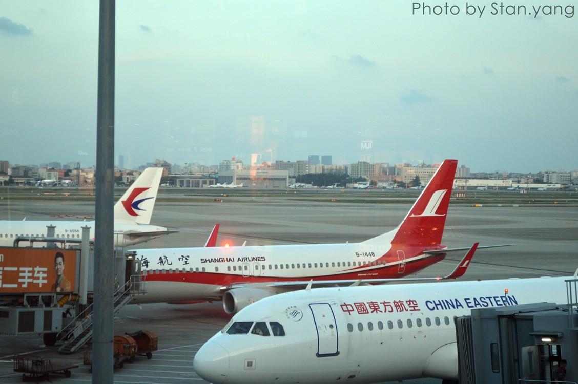 Re:[Stan游记]南京、苏州、上海三地联游,空铁联程 附flight log BOEING 737-800 B-1448 中国上海虹桥国际机场