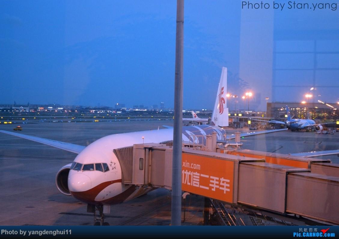 Re:[原创][Stan游记]南京、苏州、上海三地联游,空铁联程 附flight log BOEING 777-200 B-2060 中国上海虹桥国际机场