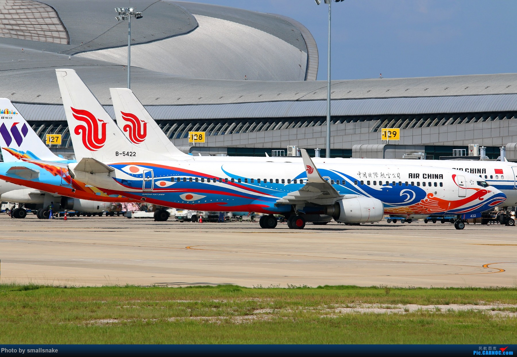 Re:[原创]NNG...难得一遇,龙凤呈祥... BOEING 737-800 B-5422 南宁吴圩国际机场