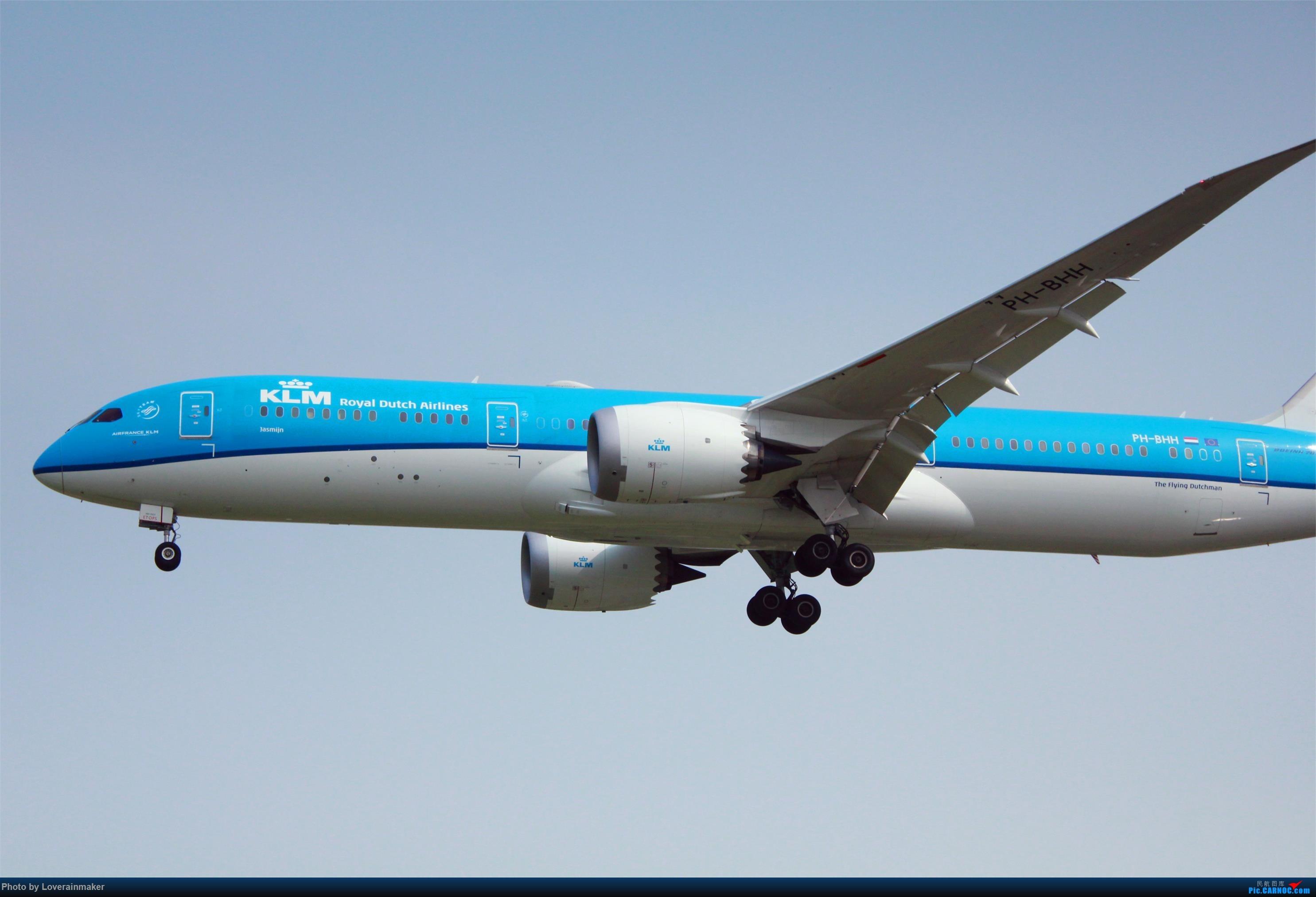 Re:[原创]HGH 杭州萧山国际机场 25 跑道头拍机 B787-9 PH-BHH