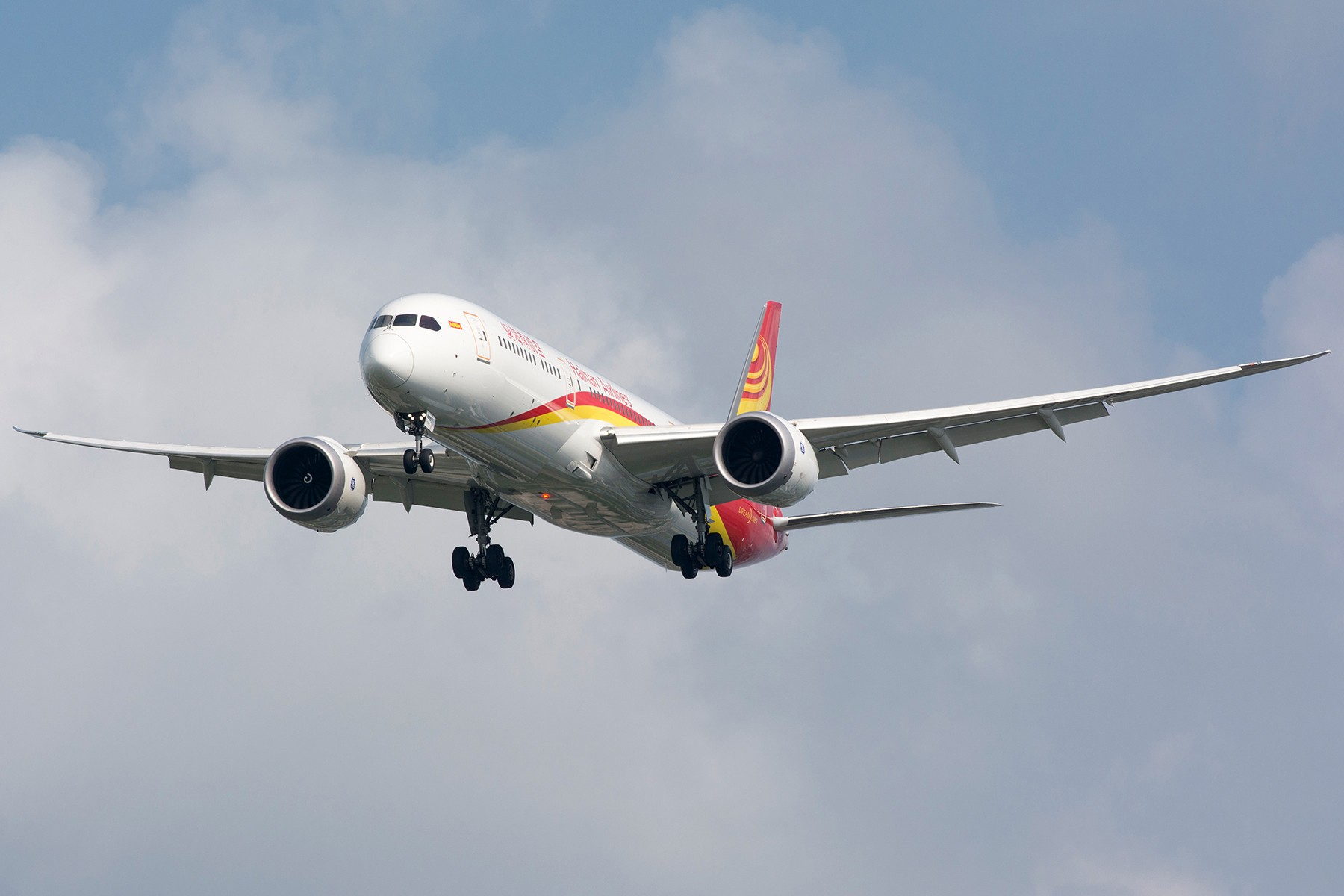 [原创][PVG] 最是那云端销魂的翼展 BOEING 787-9 B-1539 中国上海浦东国际机场