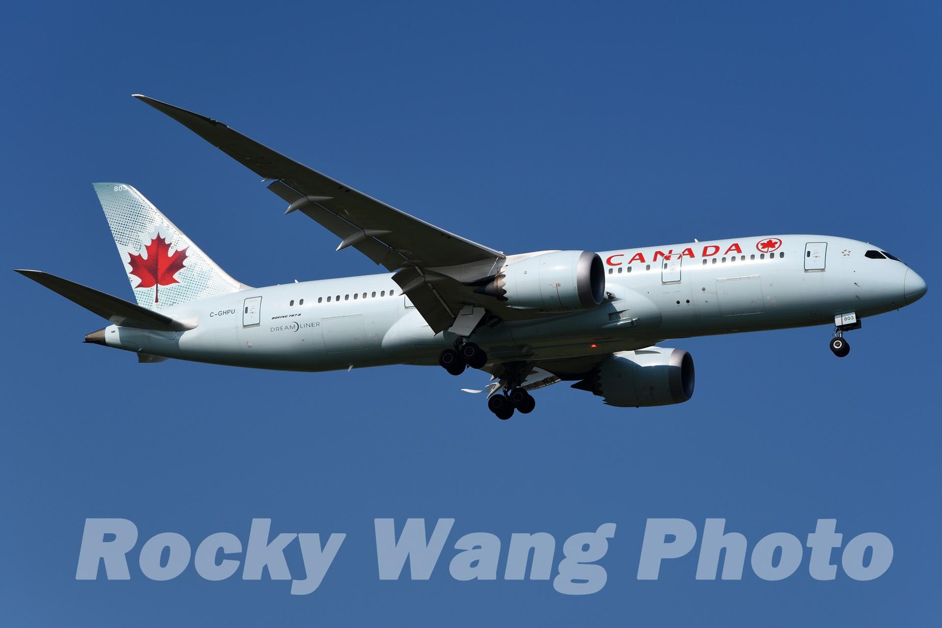 Re:[原创]即将离开787级,刷一组787 BOEING 787-8 C-GHPU 中国上海浦东国际机场