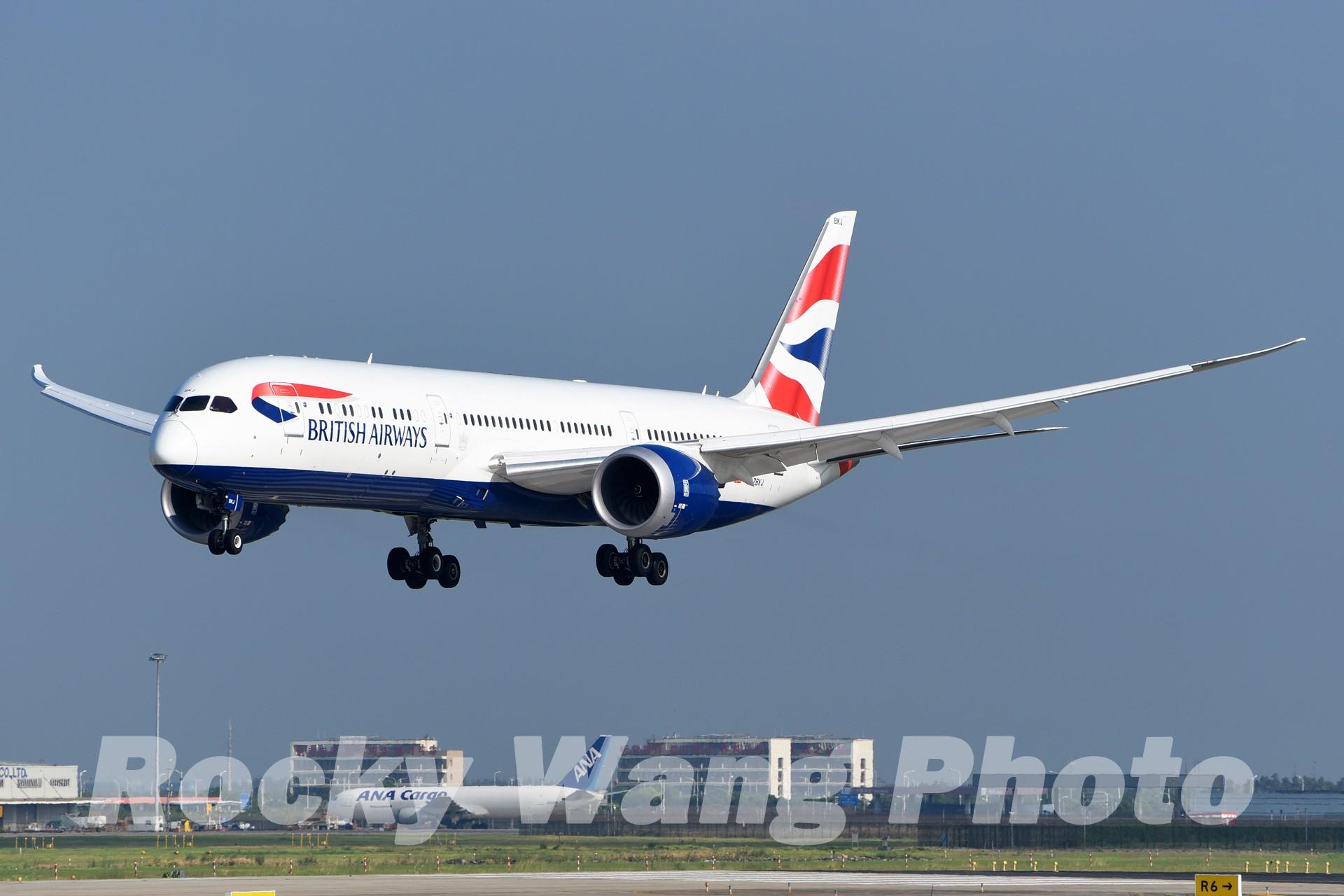 Re:[原创]即将离开787级,刷一组787 BOEING 787-9 G-ZBKJ 中国上海浦东国际机场