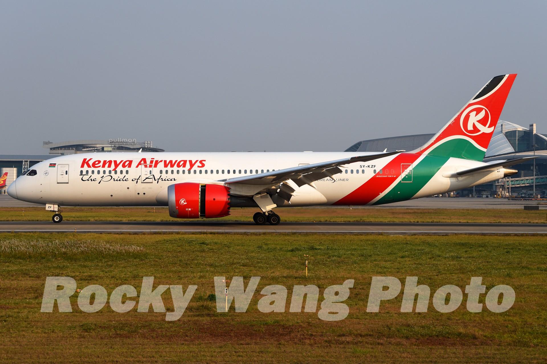 Re:[原创]即将离开787级,刷一组787 BOEING 787-8 5Y-KZF 中国广州白云国际机场