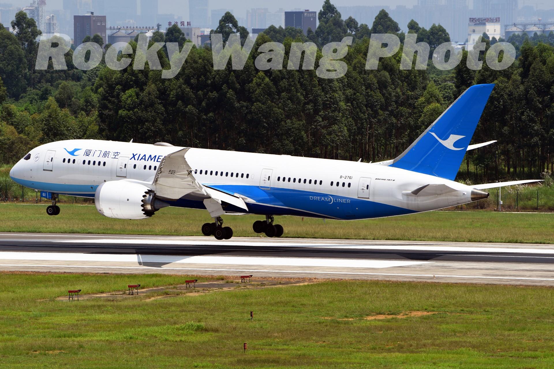Re:[原创]即将离开787级,刷一组787 BOEING 787-8 B-2761 中国成都双流国际机场