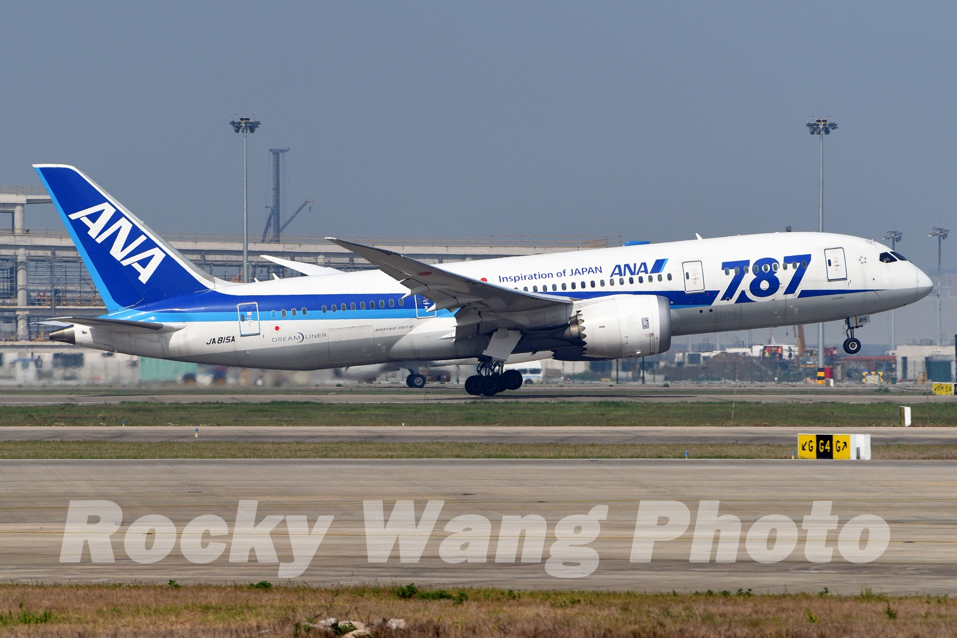 Re:[原创]即将离开787级,刷一组787 BOEING 787-8 JA815A 中国上海浦东国际机场