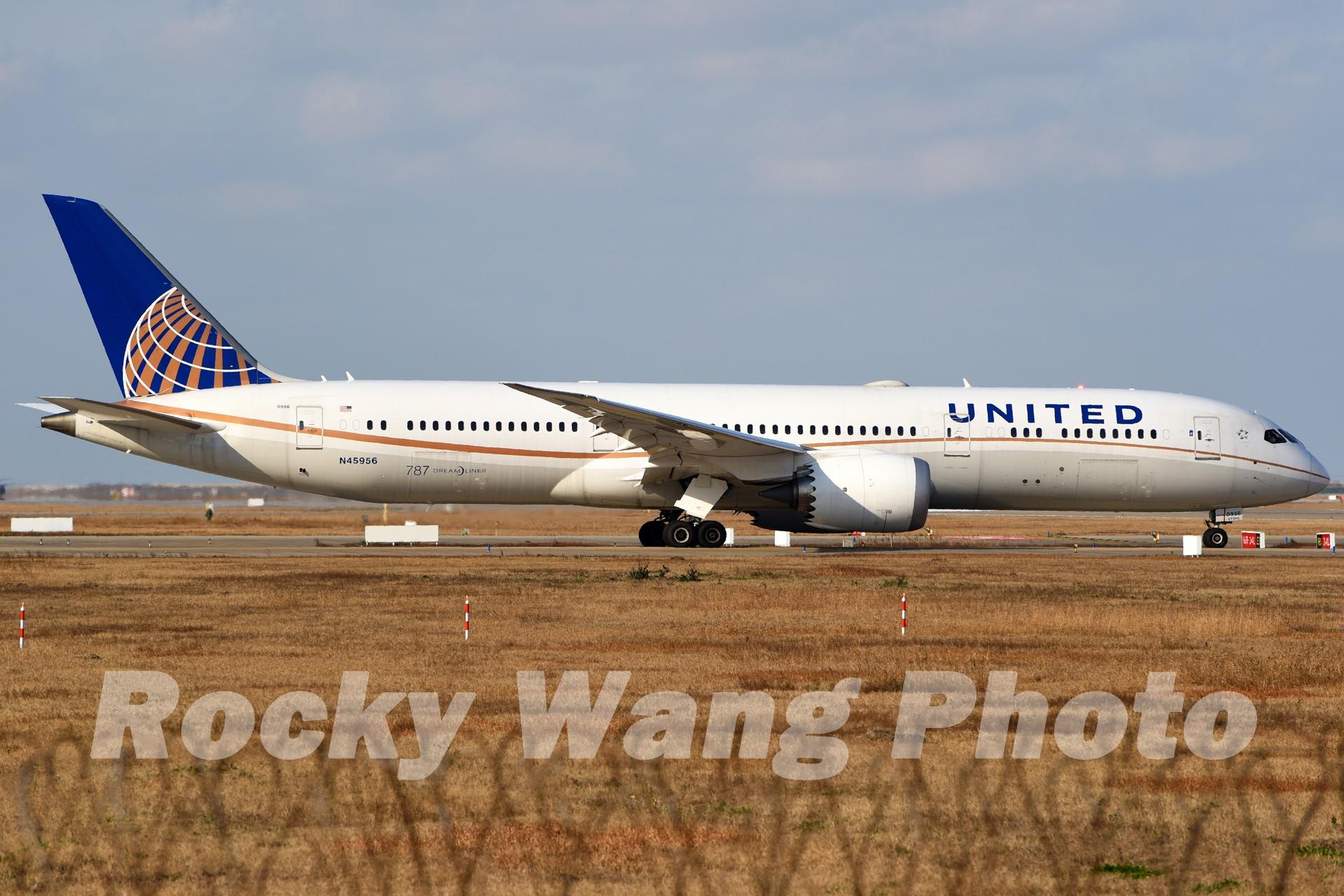 Re:[原创]即将离开787级,刷一组787 BOEING 787-9 N45956 中国上海浦东国际机场