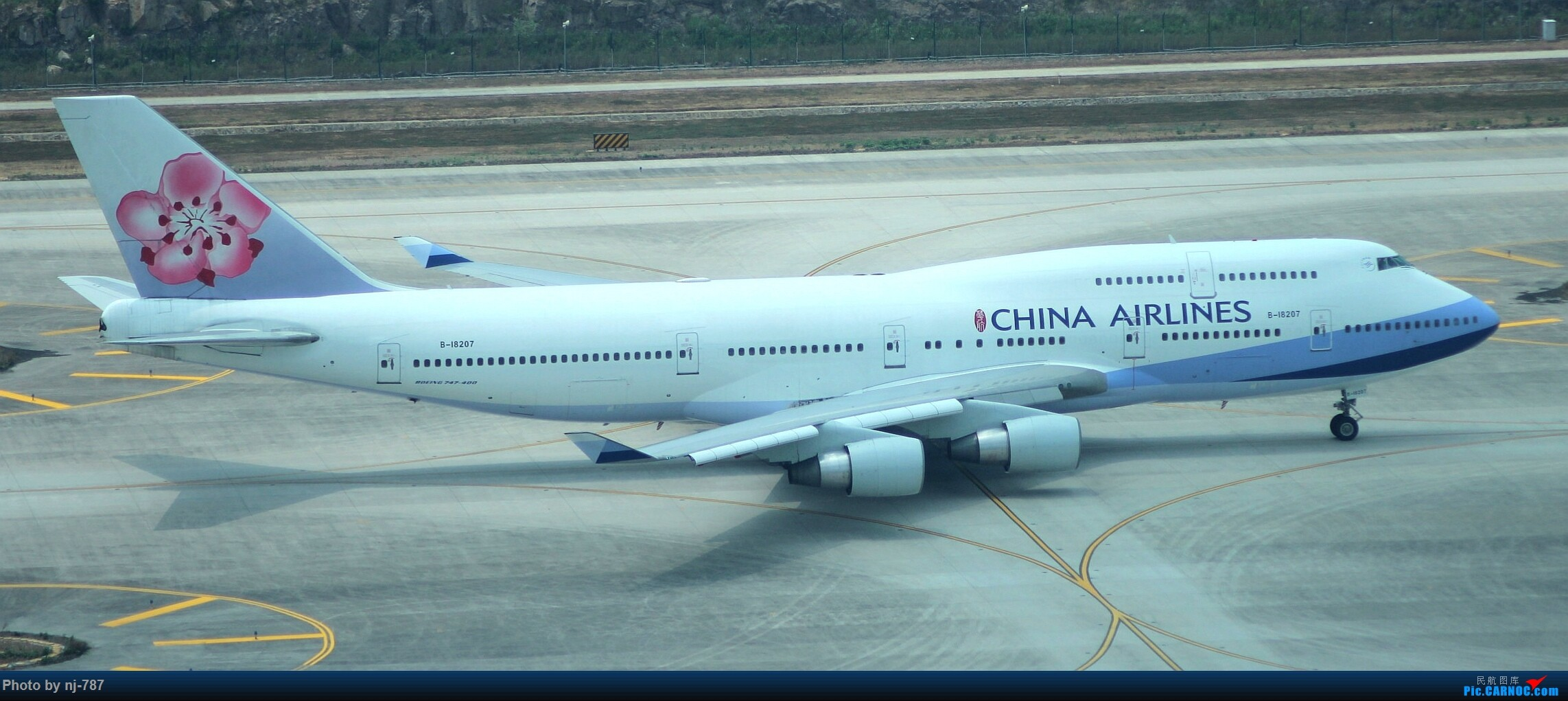 Re:[原创]站得高,看得远!NKG双跑,T2启用后初踏! BOEING 747-400 B-18207 南京禄口国际机场