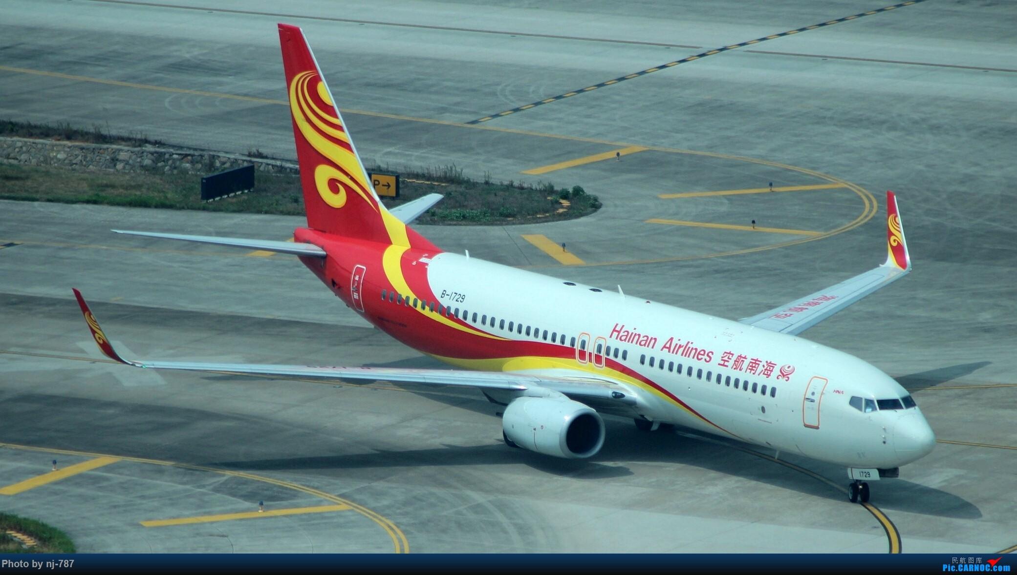 Re:[原创]站得高,看得远!NKG双跑,T2启用后初踏! BOEING 737-800 B-1729 南京禄口国际机场
